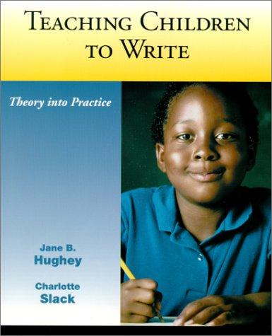 Teaching Children to Write 9780130951946