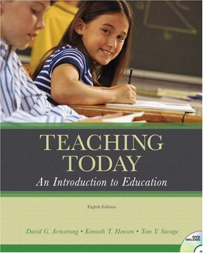 Teaching Today: An Introduction to Education [With DVD] 9780131595521