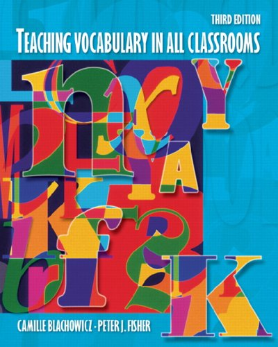 Teaching Vocabulary in All Classrooms 9780131198036