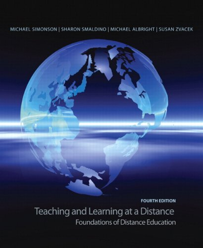 Teaching and Learning at a Distance: Foundations of Distance Education 9780135137765