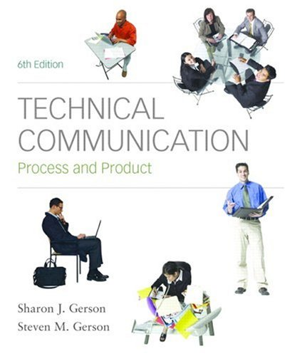 Technical Communication: Process and Product 9780136154754