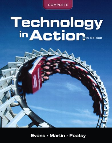 Technology in Action, Complete [With CDROM] 9780131391574