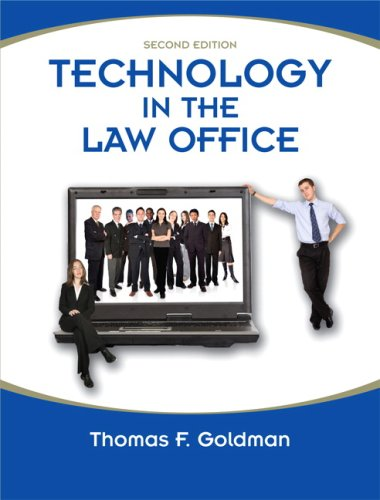 Technology in the Law Office 9780135056820