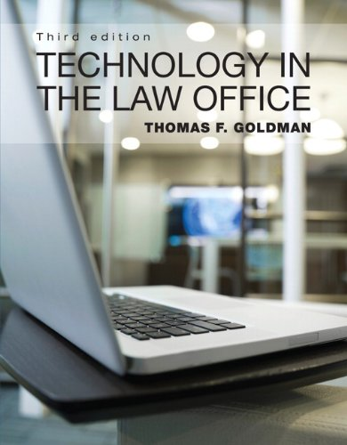 Technology in the Law Office 9780132722995