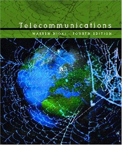 Telecommunications 9780130200310