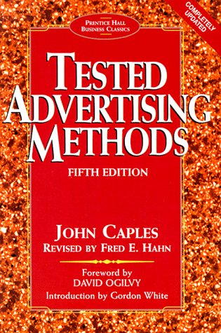 Tested Advertising Methods 9780130957016