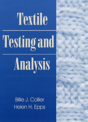 Textile Testing and Analysis 9780134882147
