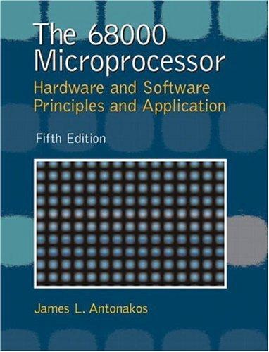 The 68000 Microprocessor 9780130195616