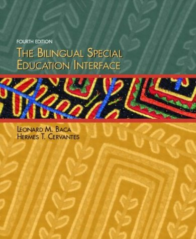 The Bilingual Special Education Interface 9780131138438
