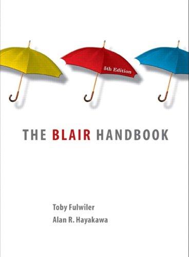 The Blair Handbook 9780131935365