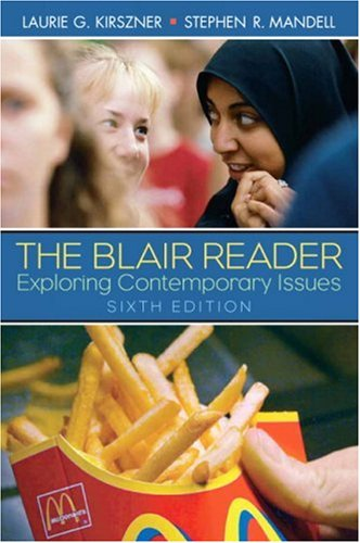 The Blair Reader: Exploring Contemporary Issues 9780132308694