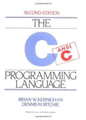 C Programming Language : ANSI C Version - 2nd Edition