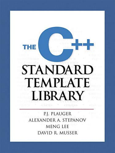 The C++ Standard Template Library 9780134376332