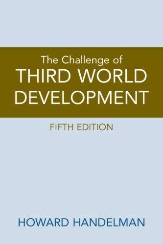 The Challenge of Third World Development 9780136054771