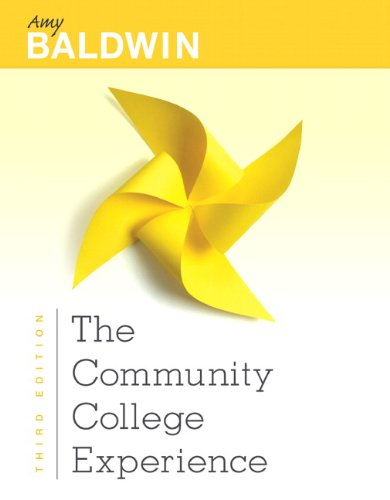 The Community College Experience 9780132819879