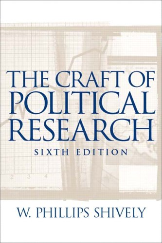 The Craft of Political Research 9780131174405