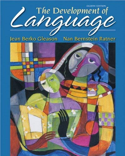 The Development of Language 9780132612388