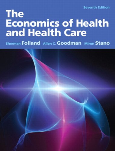 The Economics of Health and Health Care 9780132773690