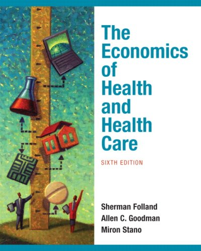 The Economics of Health and Health Care 9780136080305