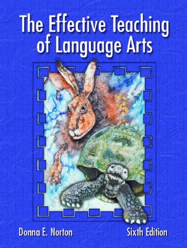 The Effective Teaching of Language Arts 9780131117303