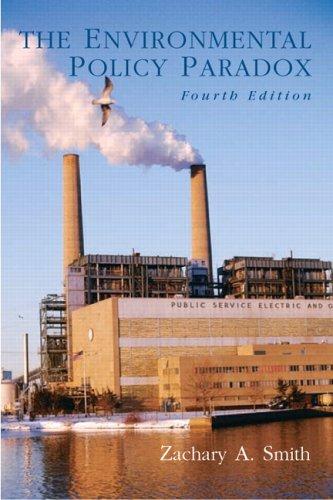 The Environmental Policy Paradox 9780130993083