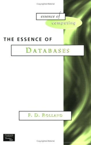 The Essence of Databases 9780137278275