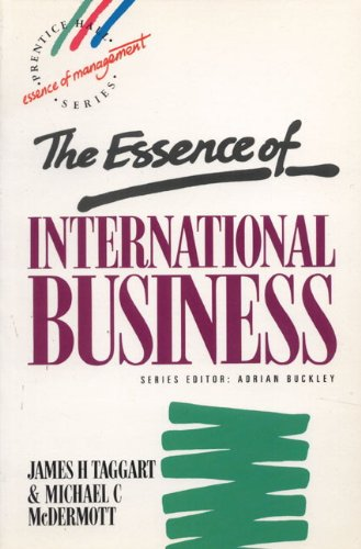 The Essence of International Business 9780132880770