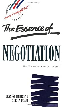The Essence of Negotiation 9780133498950