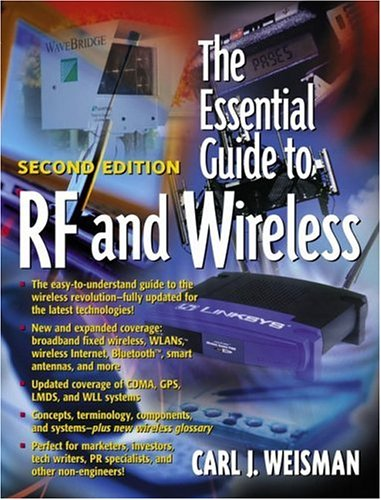 The Essential Guide to RF and Wirelss 9780130354655