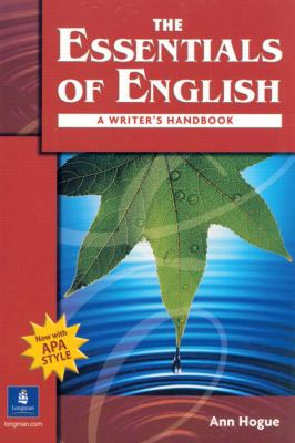 The Essentials of English: A Writer's Handbook (with APA Style) 9780131500907