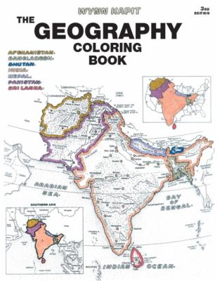 The Geography Coloring Book 9780131014725