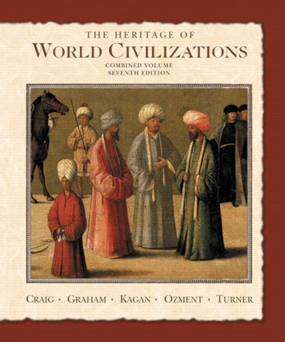 The Heritage of World Civilizations: Combined Volume [With CD-ROM] 9780131926233