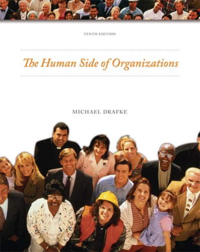 The Human Side of Organizations 9780135139745