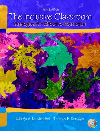 The Inclusive Classroom: Strategies for Effective Instruction [With CDROM] 9780131540682