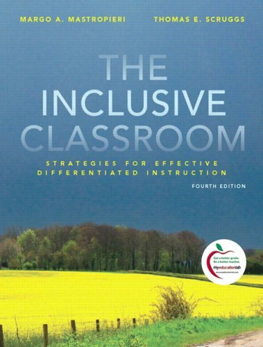 The Inclusive Classroom: Strategies for Effective Instruction 9780135001707
