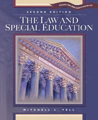 The Law and Special Education 9780131106703