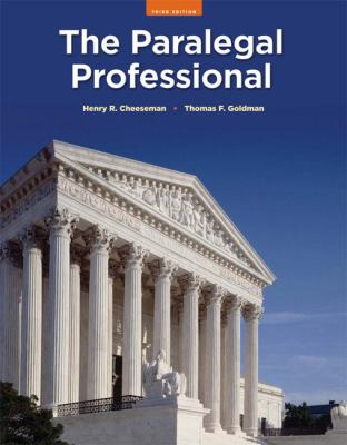 The Paralegal Professional 9780135063927