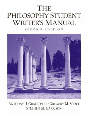 The Philosophy Student Writer's Manual 9780130991669