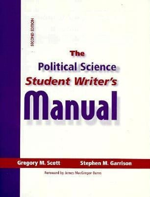 The Political Science Student Writer's Manual 9780136248002