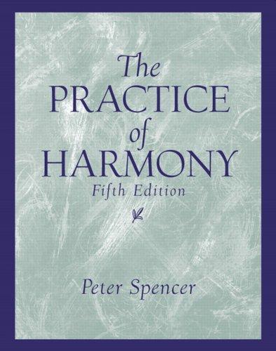 The Practice of Harmony 9780131826601