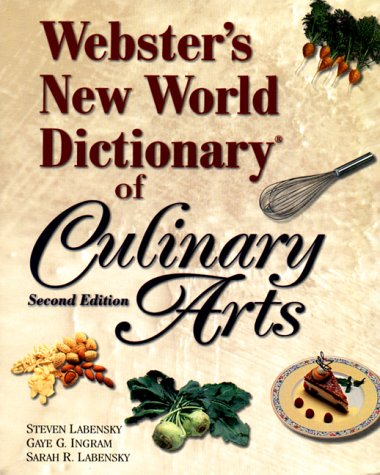 The Prentice Hall Dictionary of Culinary Arts 9780130264305
