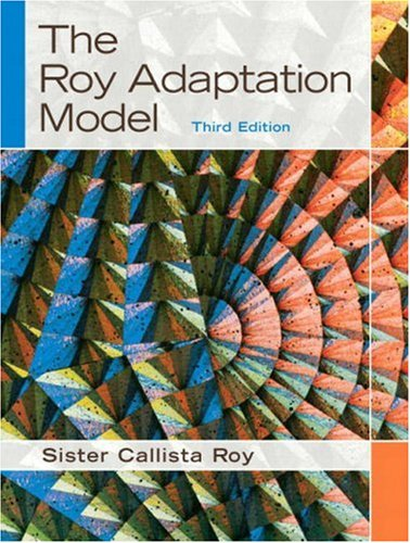 The Roy Adaptation Model 9780130384973