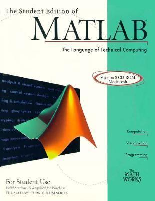 The Student Edition of MATLAB Version 5 CD ROM Macintosh 9780132724852