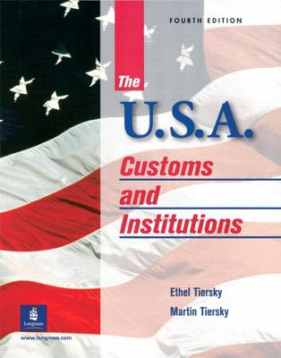 The U.S.A.: Customs and Institutions 9780130263605