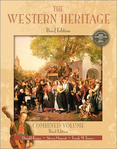 The Western Heritage: Combined Brief Edition with CD-ROM 9780130415783