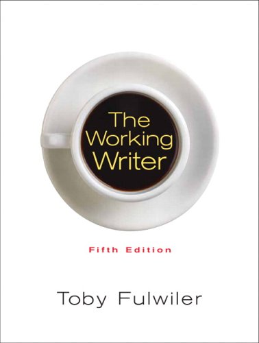 The Working Writer 9780132278966