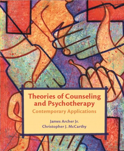 Theories of Counseling and Psychotherapy: Contemporary Applications [With CDROM] 9780131138032