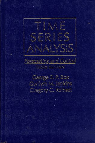 Time Series Analysis: Forecasting & Control 9780130607744