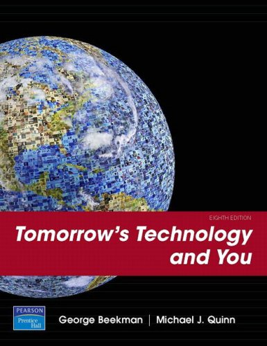 Tomorrow's Technology and You: Complete 9780132297202
