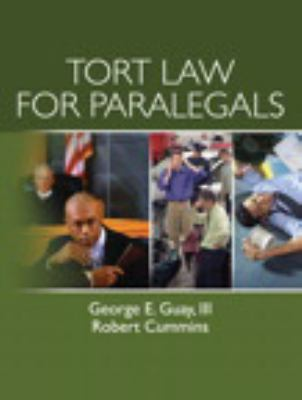 Tort Law for Paralegals 9780135000557